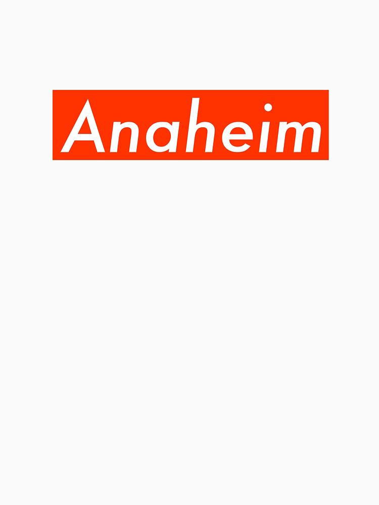 Supremely Anaheim (Orange) by MusashinoSports