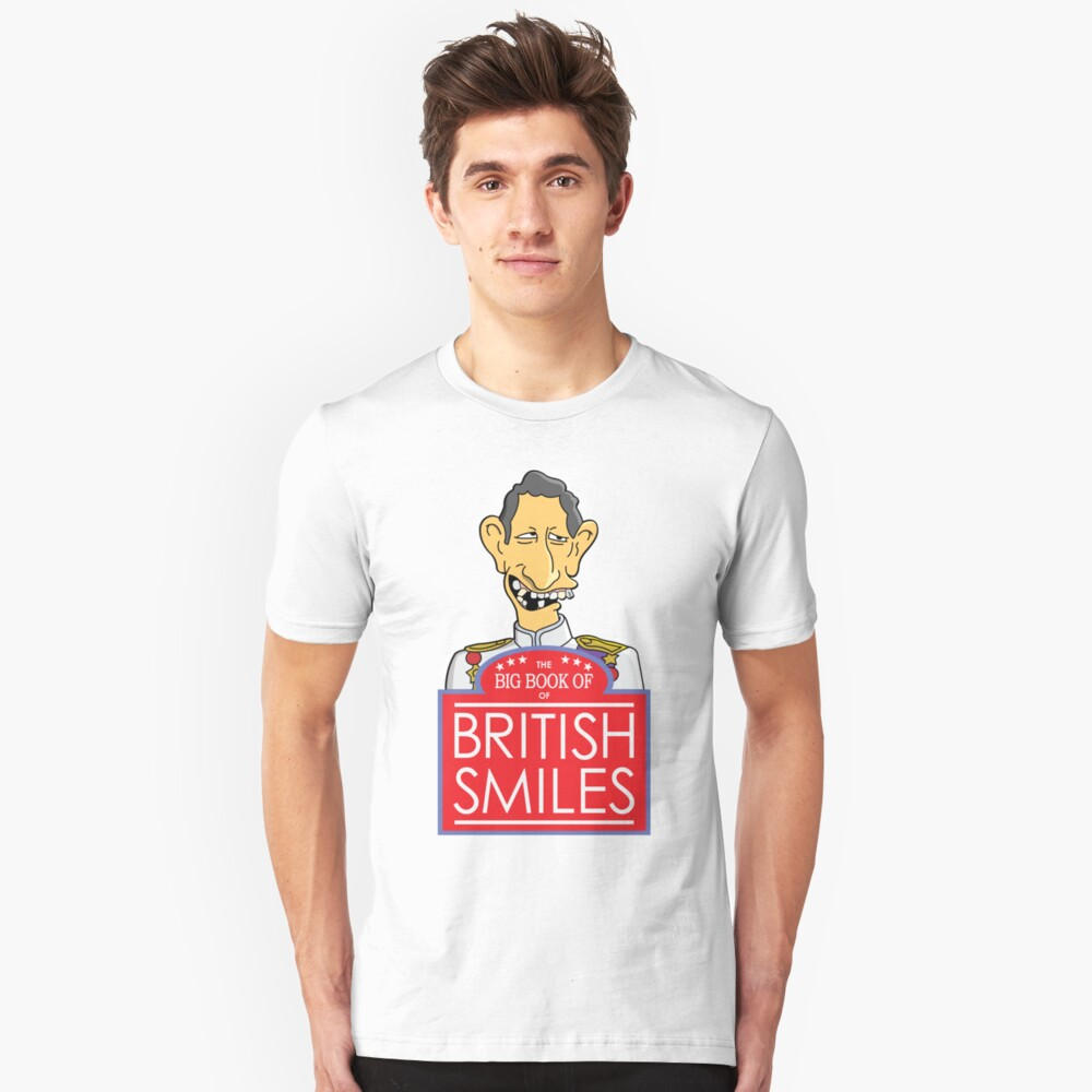 The Big Book Of British Smiles Unisex T-Shirt Front