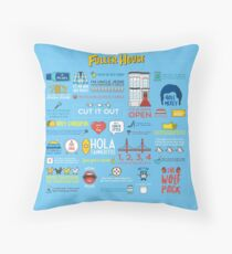 Fuller House Quotes Throw Pillow