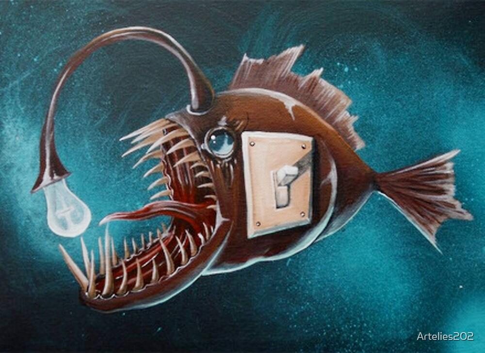 anglerfish by Artelies202