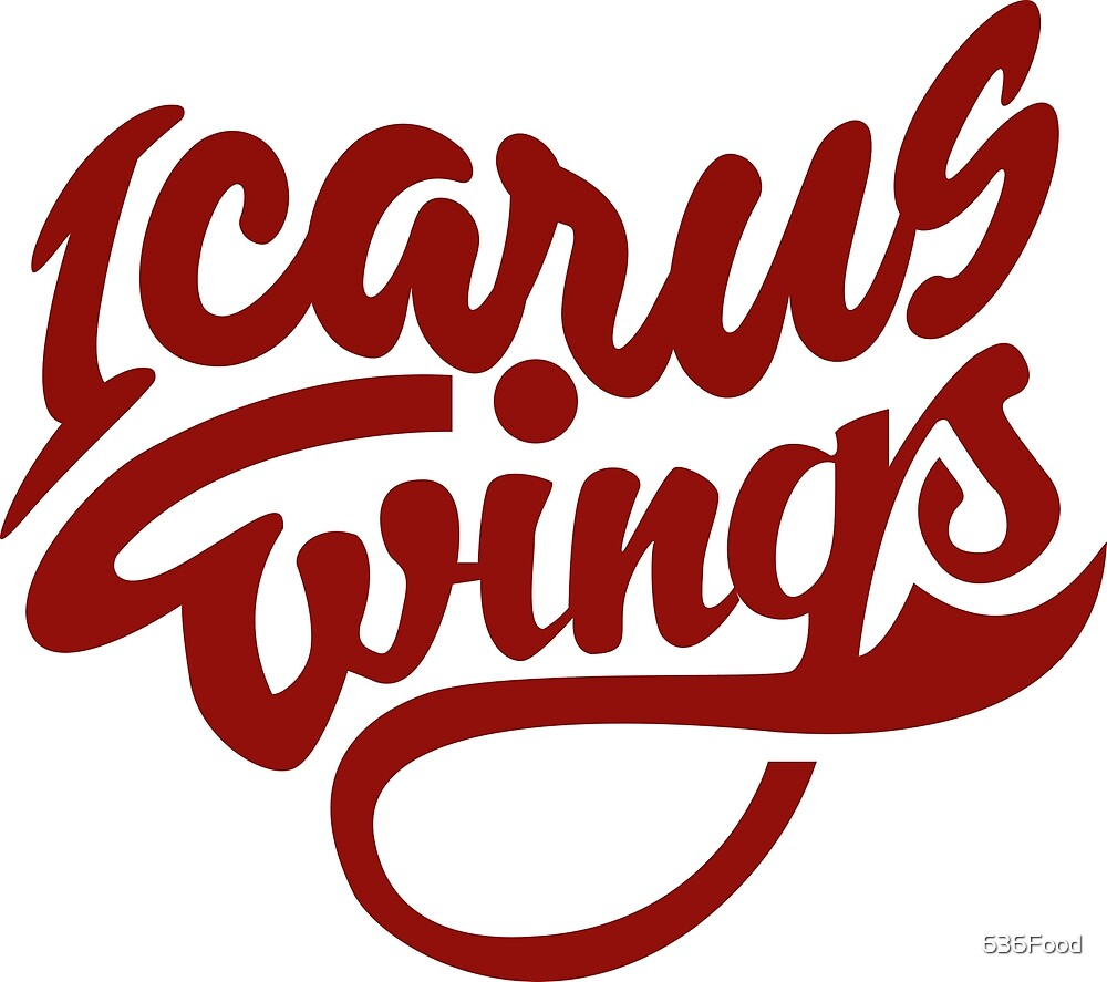 Official Icarus Wings Logo  by 636Food