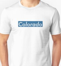 Supremely Colorado (Blue) Unisex T-Shirt