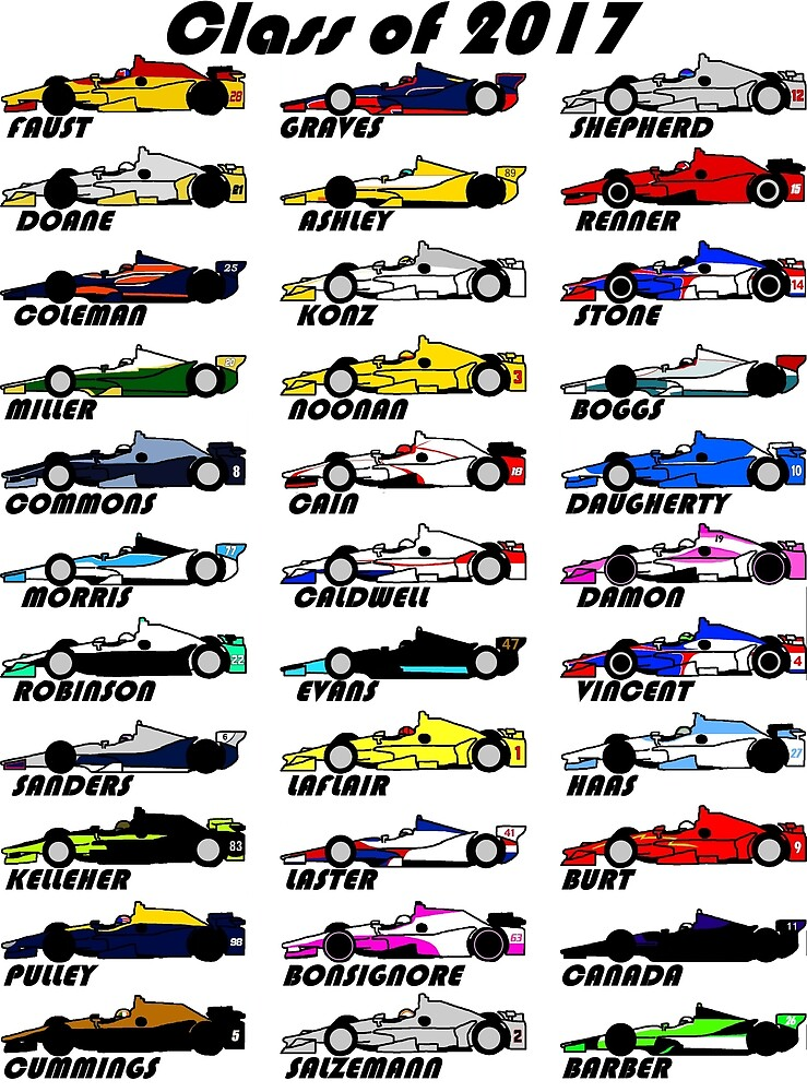 "Brickel's IndyCar ""Class of 2017""  by TheJoeDonohue"