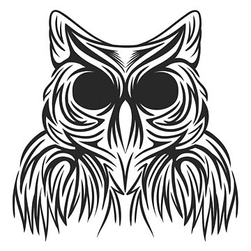beauty OWL BLACK by ANDERDE