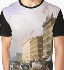 Historical Manhattan Graphic T-Shirt