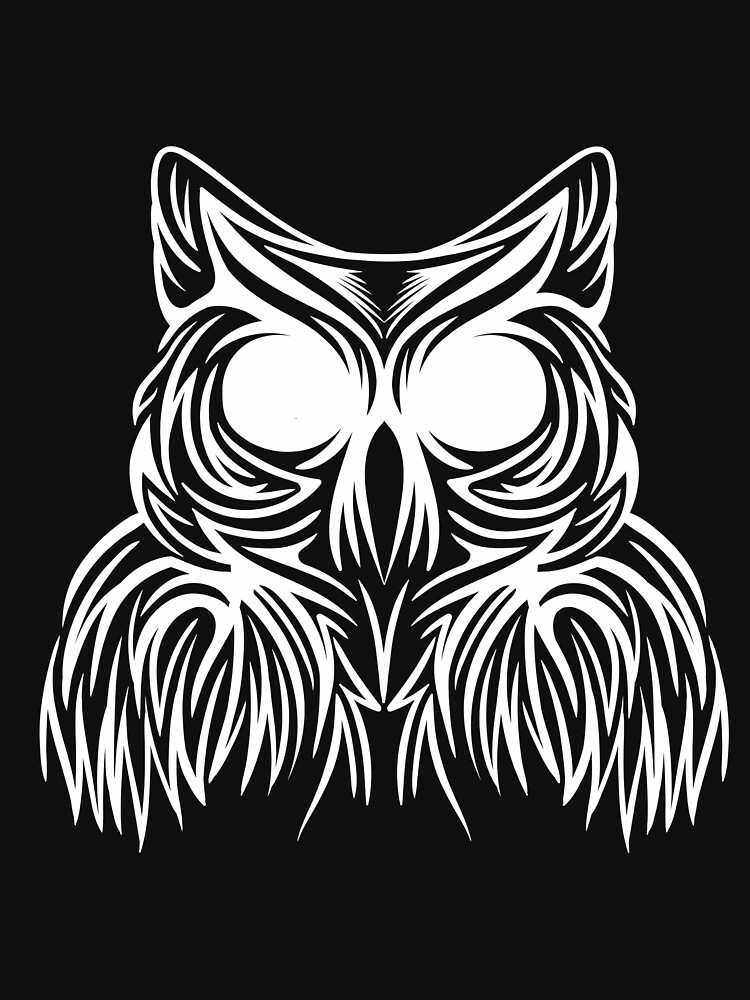 beauty OWL WHITE by ANDERDE