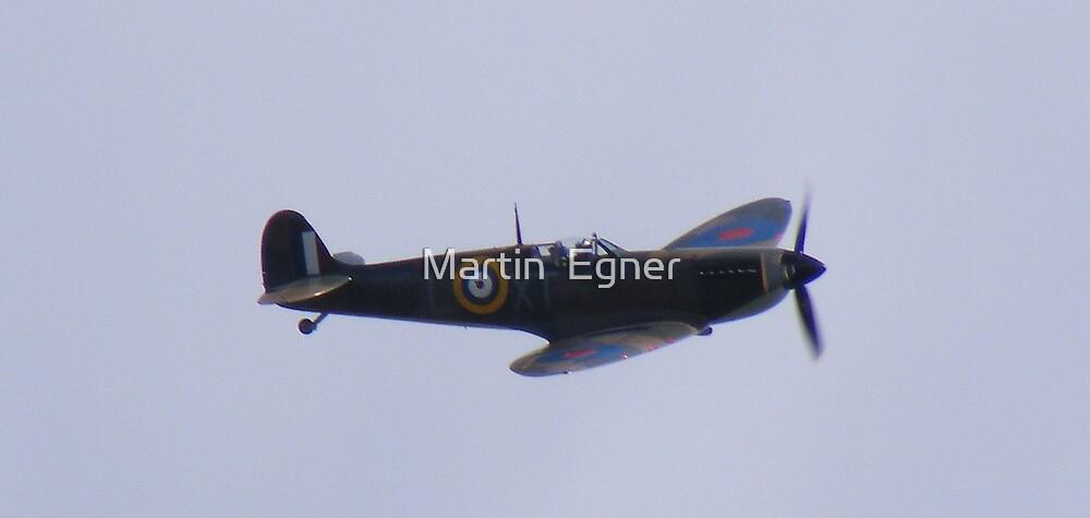 spitfire flying by Martin  Egner