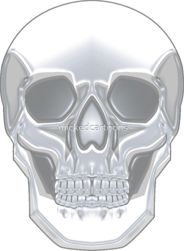 Crystal Skull by wickedcartoons