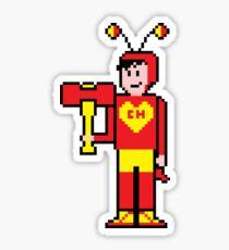 8Bit El Chapulín Colorado Sticker