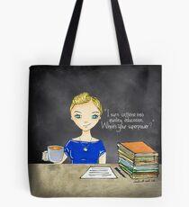 Teacher Coffee 5 Tote Bag