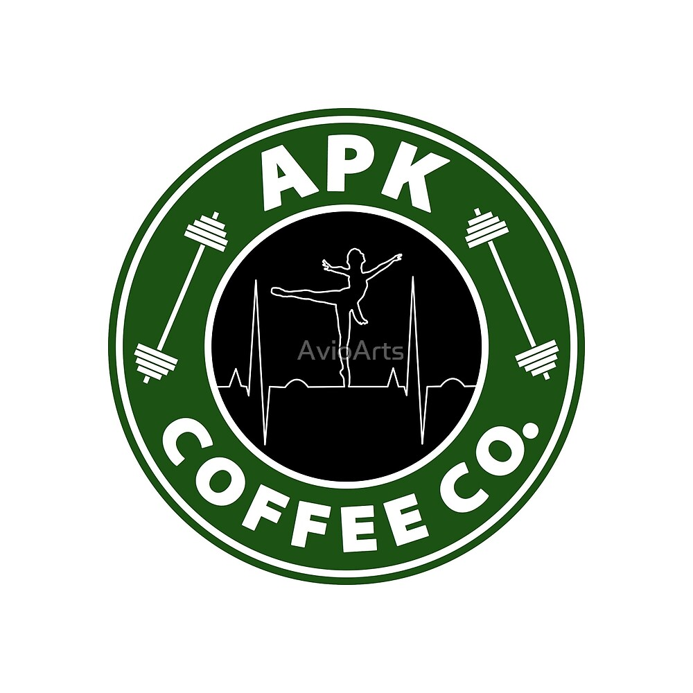 Applied Physiology and Kinesiology (APK) Coffee Co. (Dancer) by AvioArts