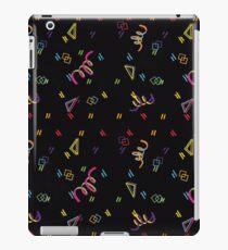Bowling Alley Carpet iPad Case/Skin
