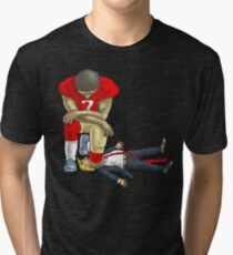 Kap knee Trump shirt Tri-blend T-Shirt