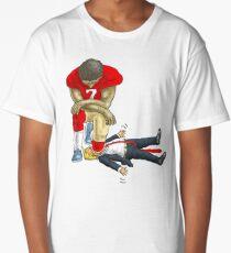 Kap knee Trump shirt Long T-Shirt