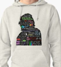 Harry Styles lyric compilation Pullover Hoodie