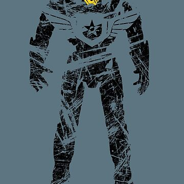 Gipsy Danger (Black) by Pootermobile04