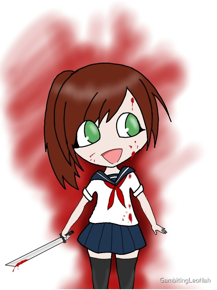 Yandere S&D (Red Head) by GambitingLeoNah