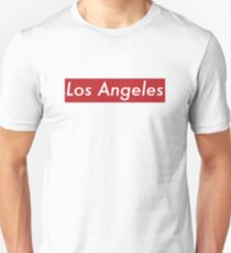 Supremely Los Angeles (Red) Unisex T-Shirt