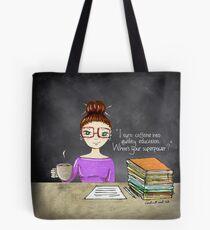 Teacher coffee 8 Tote Bag
