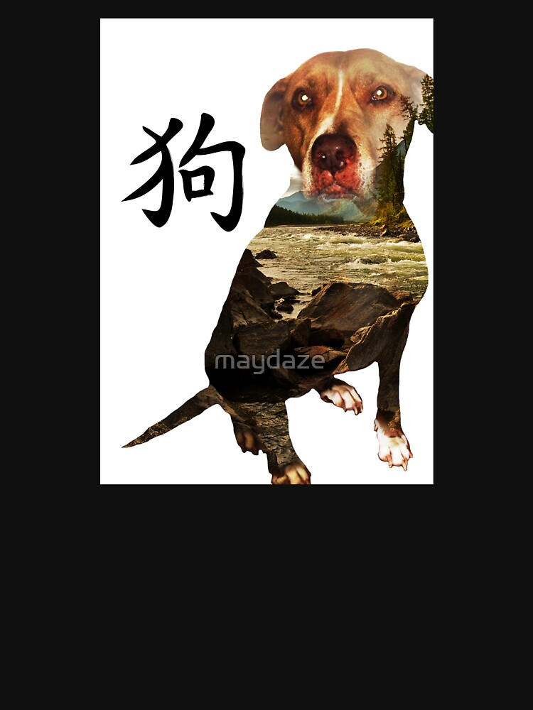 Chinese Dog by maydaze