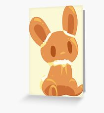 Fanta Bunny Greeting Card