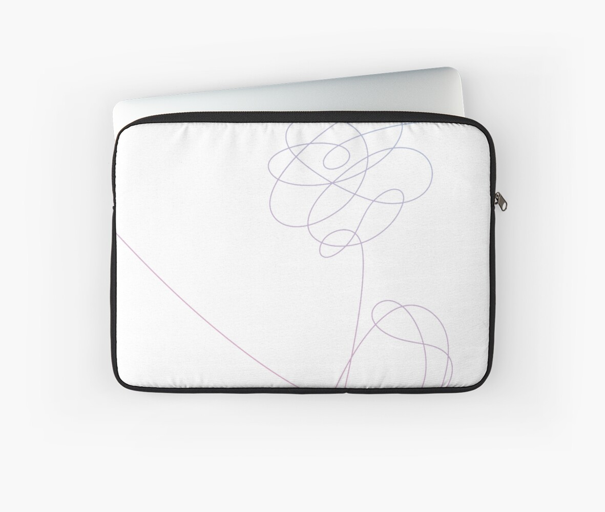 best sneakers 1428d 48162 'BTS - Love Yourself 'Her' Flower 1' Laptop Sleeve by yumi108