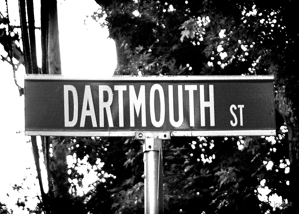 A Street Sign Named Dartmouth by jcwest