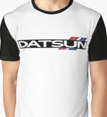Datsun 510 Emblem Graphic T-Shirt