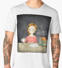 Teacher coffee 12 Men's Premium T-Shirt