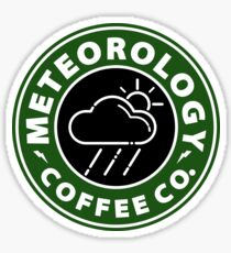 Meteorology Coffee Co Sticker