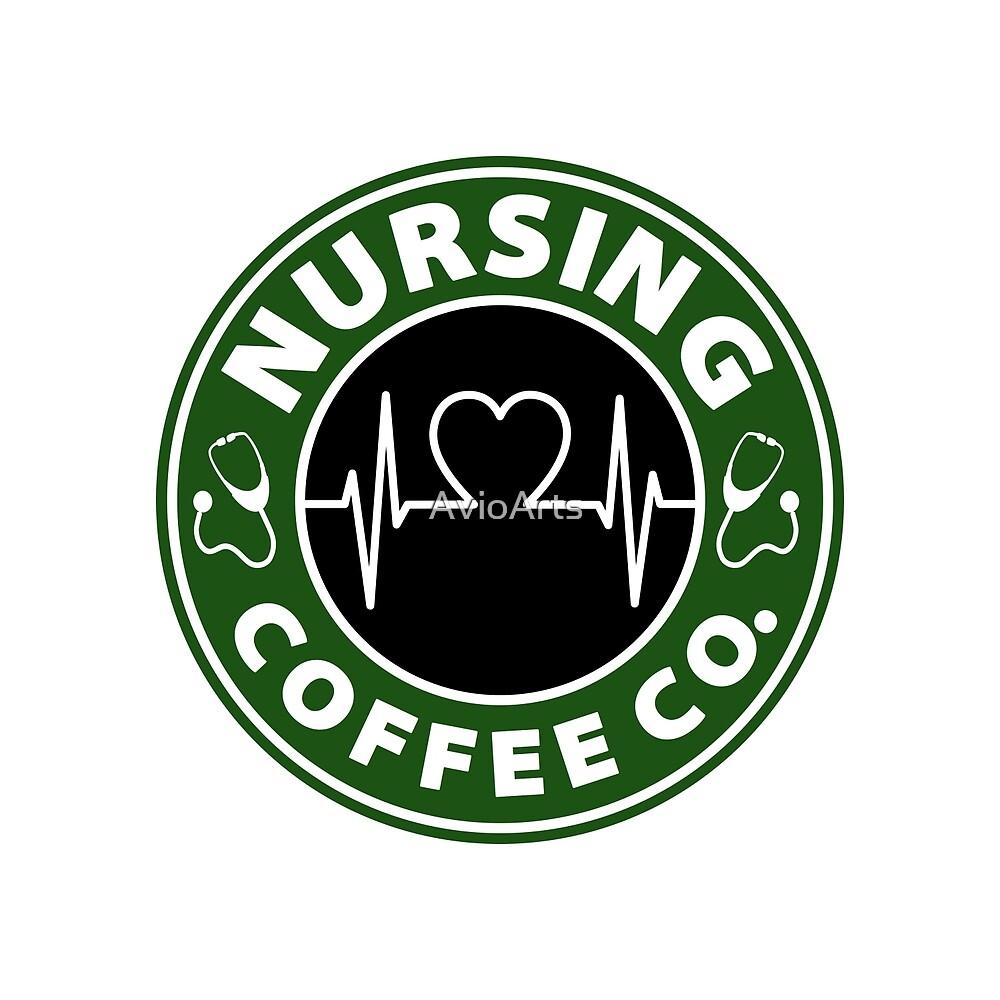 Nursing Coffee Co.  by AvioArts