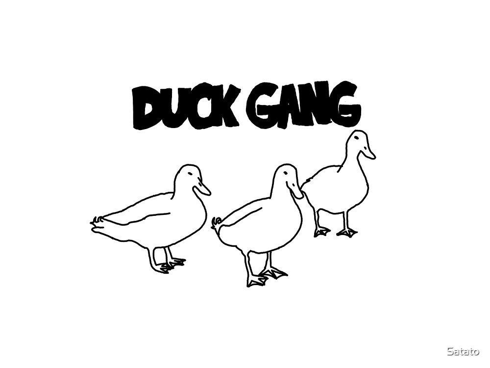 Duck Gang by Satato