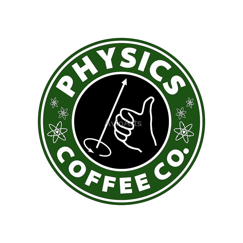 Physics Coffee Co. (Right Hand Rule) by AvioArts