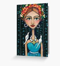 Starting Over Greeting Card