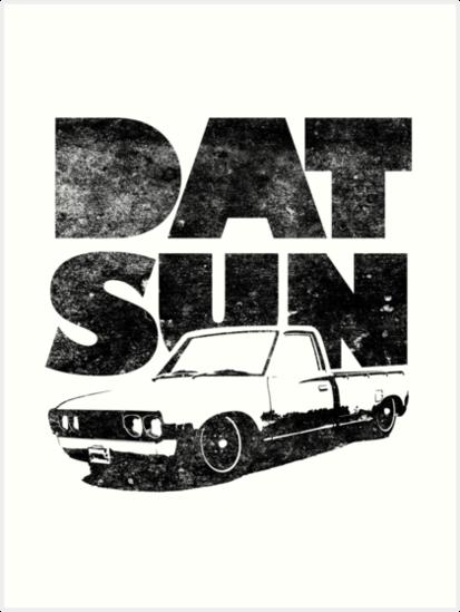 Datsun 620 Fett Kunstdruck Von Pootermobile04 Redbubble