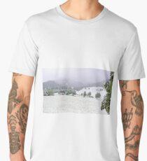 Snowing in Hinterthal Men's Premium T-Shirt