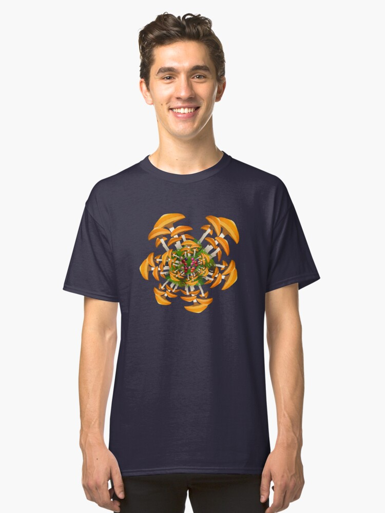Mushrooms Galore Classic T-Shirt Front