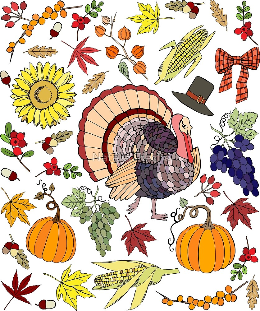 Thanksgiving decorations by Natalia Piache
