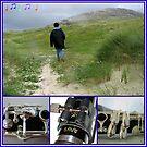 Fremder am Ufer - Clarinet Collage von BlueMoonRose