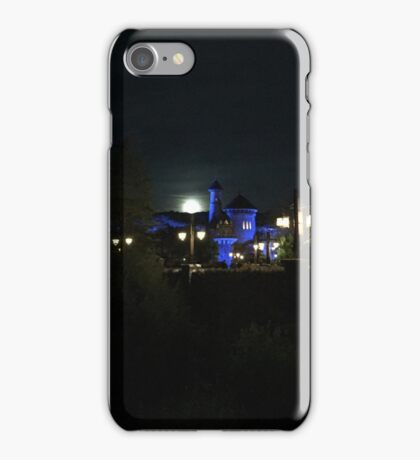 Full Moon over Prince Eric's Castle iPhone Case/Skin