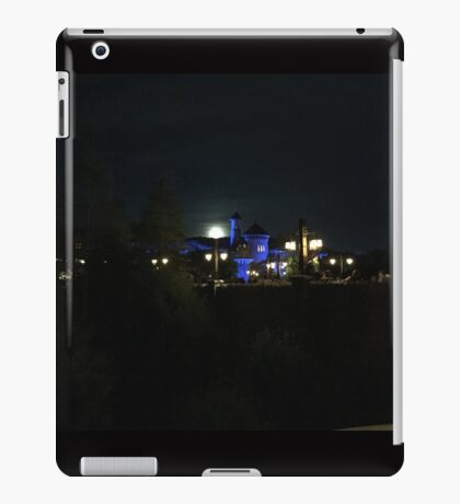 Full Moon over Prince Eric's Castle iPad Case/Skin