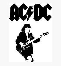 AC/DC Photographic Print