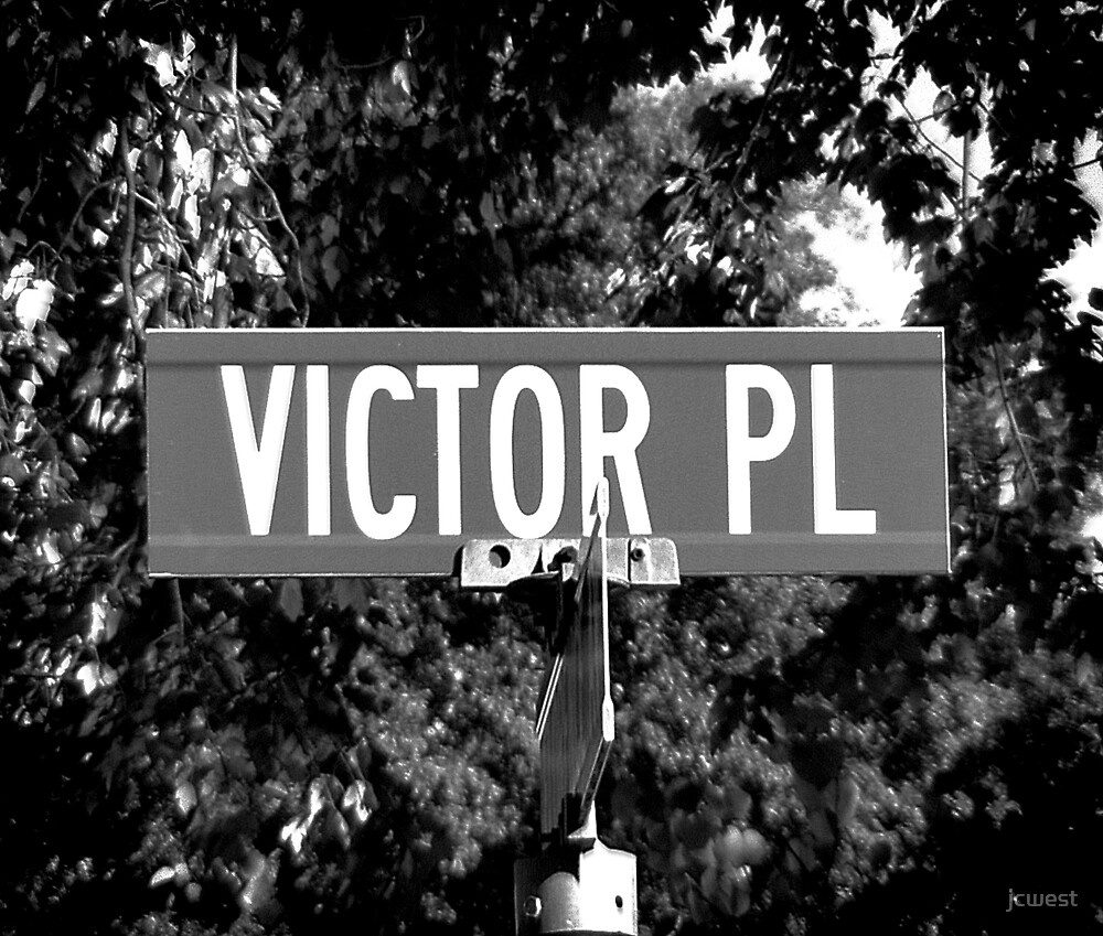 A Street Sign Named Victor by jcwest