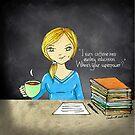 Teacher coffee 14 by cardwellandink