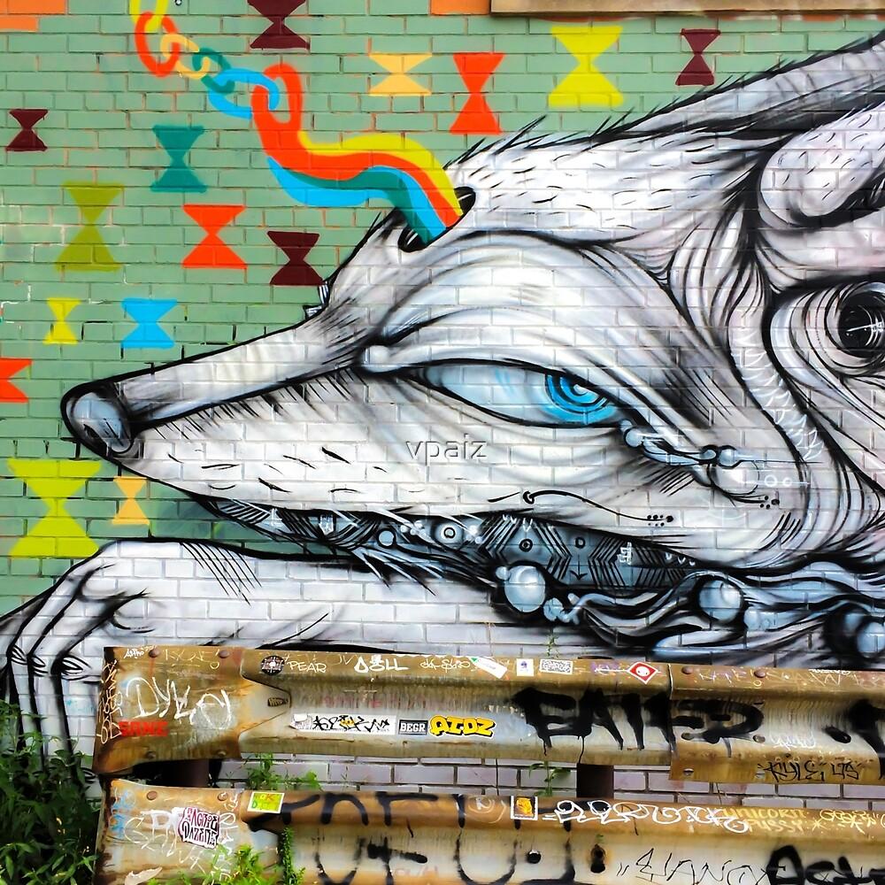 Detroit Eastern Market, Mural Graffiti by vpaiz