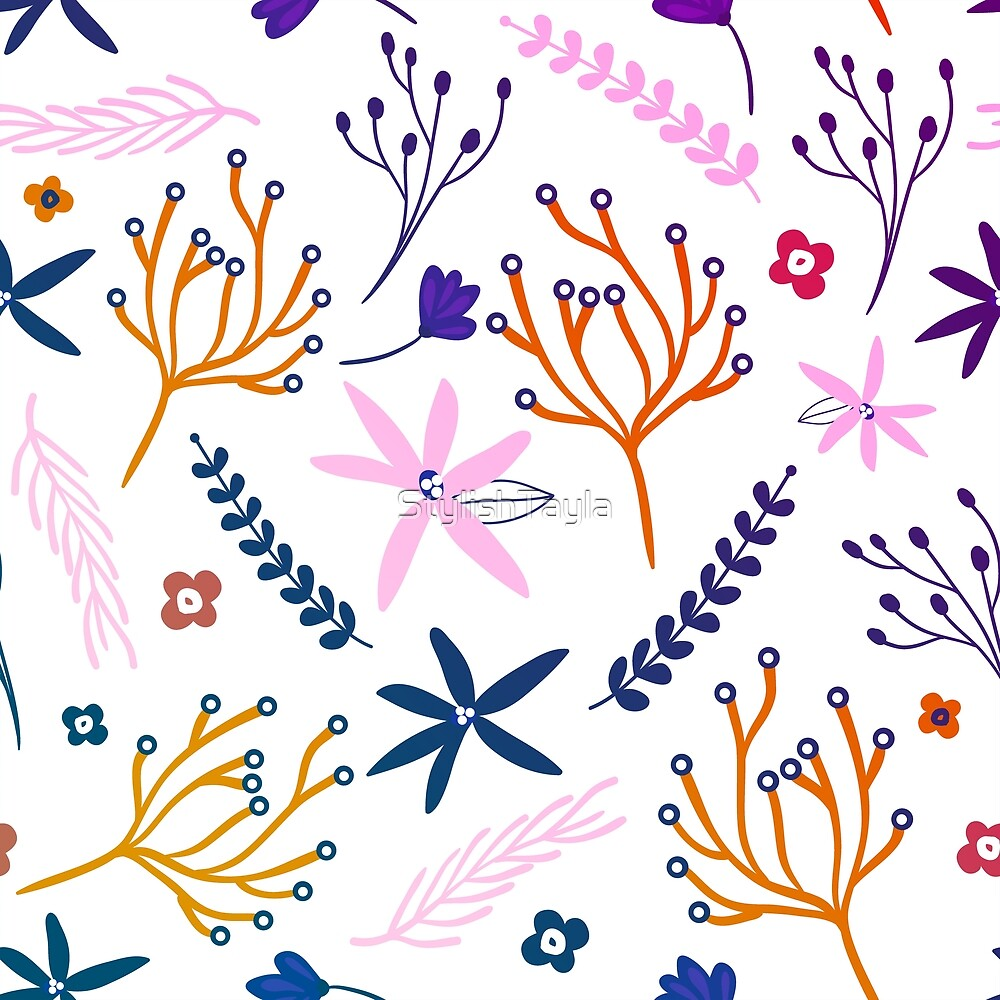 Coral Pattern Design by Tayla Williams