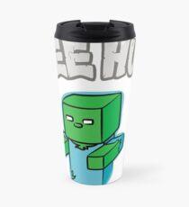 "Minecraft Zombie | ""Free Hugs"" Travel Mug"