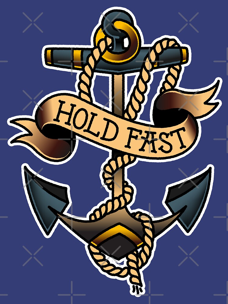 American Traditional Hold Fast Anchor by salty-dog
