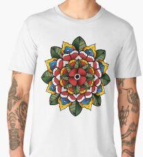 Mandala Flower Men's Premium T-Shirt