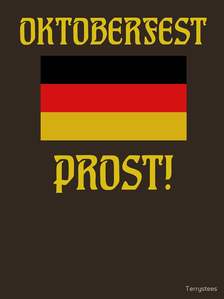 Oktoberfest German Flag Prost! by Terrystees